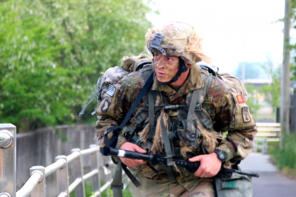 2019 Eighth Army Best Warrior Competition Day 4 Foot March