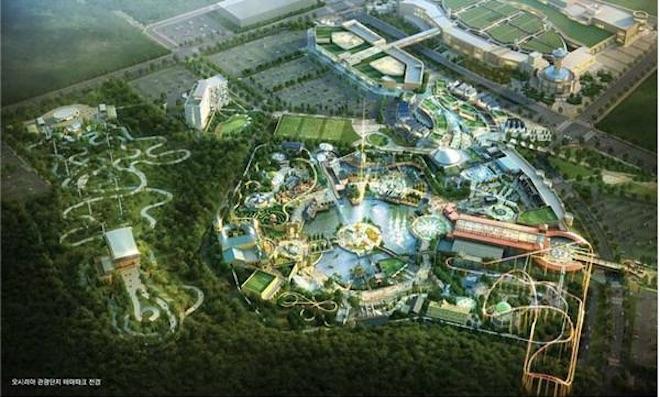East Busan Tourism Complex Theme Park Groundbreaking Ceremony