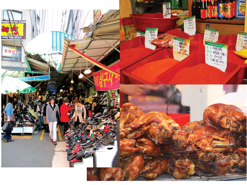 Traditional markets in Korea and the joy of shopping