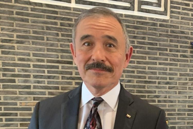 U.S. Ambassador to South Korea Harry Harris poses at his residence in Seoul, South Korea, Thursday, Jan. 16, 2020. (KIM GAMEL/STARS AND STRIPES)