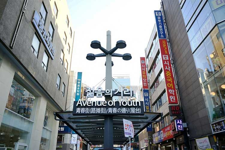 Jonggak Avenue of Youth (Photo credits: Korea Tourism Organization)