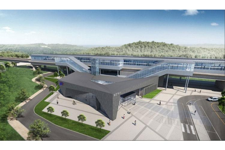 Image: Jwacheon Station/Korea Railroad Authority
