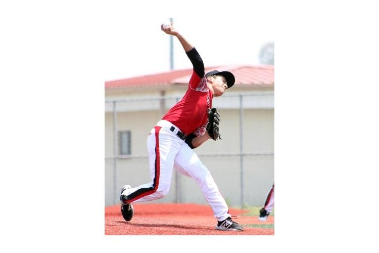 Leo Schinker took the loss in the Division II baseball final; he had the lone hit for the Cobras against Yokota. (KATHLEEN PACLIPAN/SPECIAL TO STRIPES)