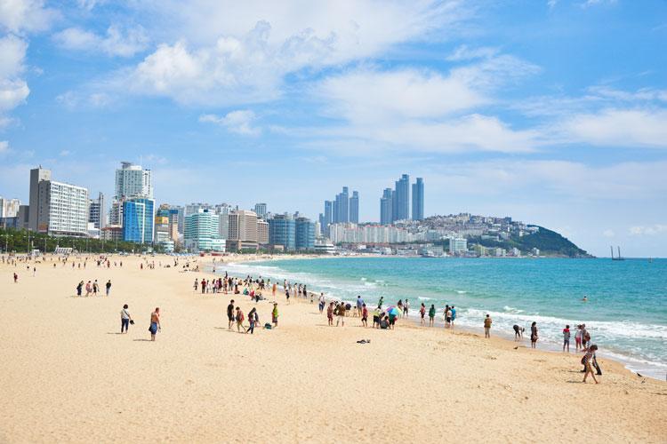 Haeundae beach (File Photo)