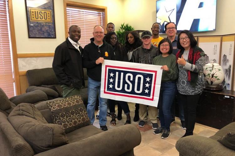 Photo courtesy of USO Camp Casey