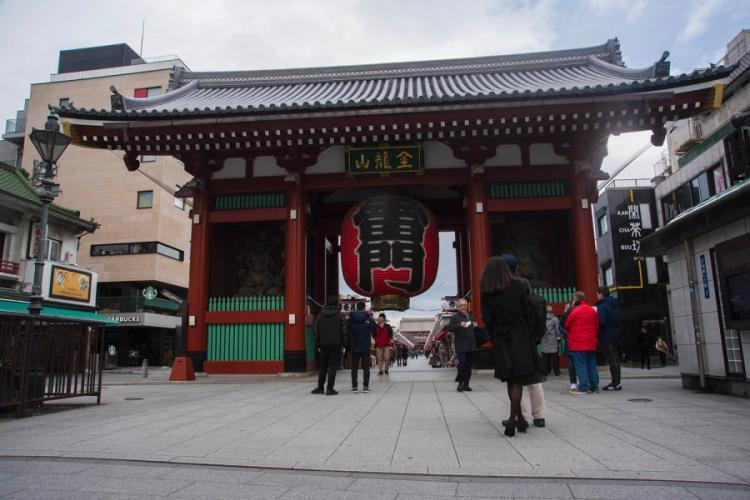 Thunder Gate marks the main entrance to Sensoji, the oldest Buddhist temple in Tokyo. THERON GODBOLD/STARS AND STRIPES