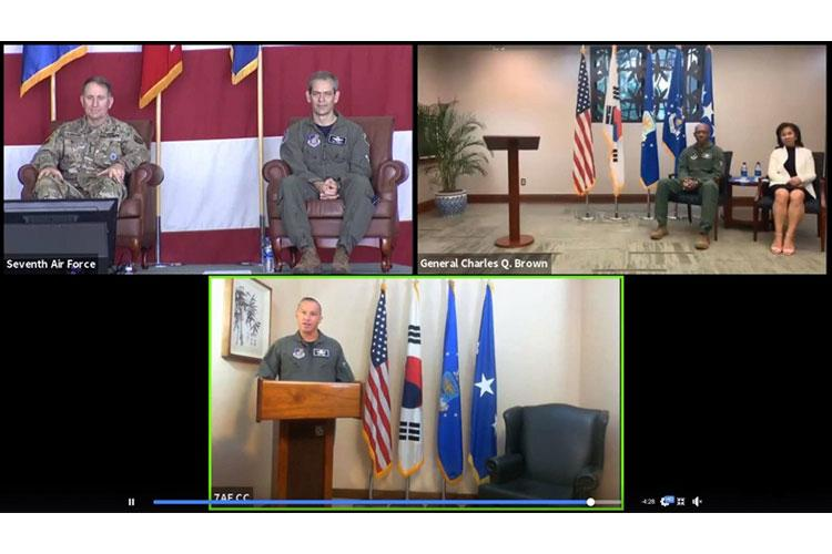 U.S. Air Force courtesy screen shot