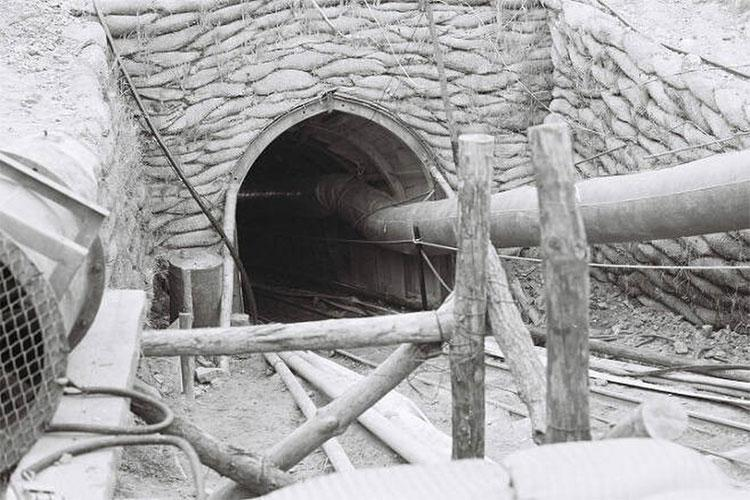 Photographed is the third tunnel, which was discovered on Oct. 17, 1978. (ROK Defense Newspaper Archives)