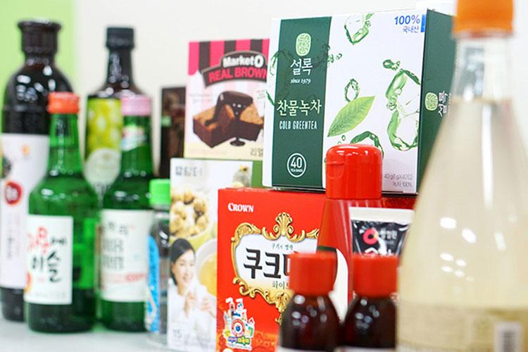 Photo: Popular Korean foods