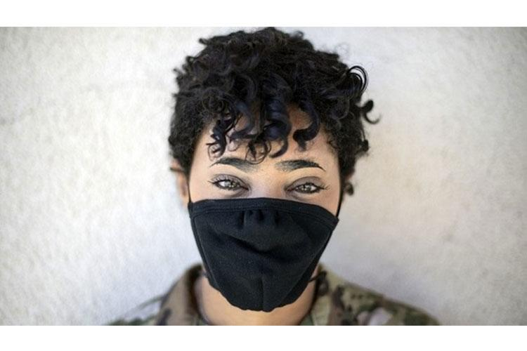 """As the country begins to reopen and facial coverings become part of the """"new normal,"""" many beneficiaries feel heightened anxiety and mental distress due to the COVID-19 pandemic. However, DoD psychological health experts offer tools and advice for managing those feelings. (U.S. Air Force photo by Senior Airman Christian Conrad)"""