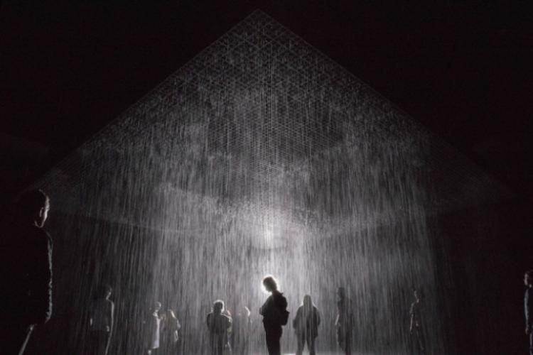Random International, Rain Room, 2013 MoMA, Image: Busan Museum of Contemporary Art