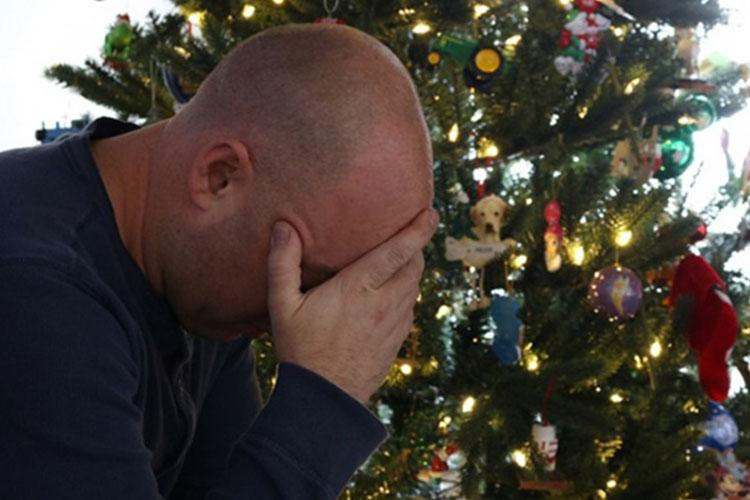 The holiday season can be a stressful time of year for many people. (Photo by Army Lt. Col. Keith Hickox, Joint Forces Headquarters, Pennsylvania National Guard.)