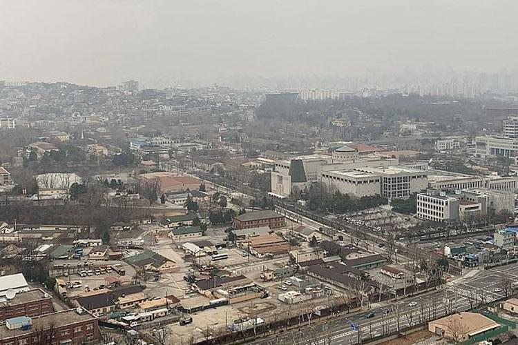 A view of U.S. Army Garrison Yongsan in Seoul, South Korea, on Sunday, March 1, 2020. KIM GAMEL/STARS AND STRIPES