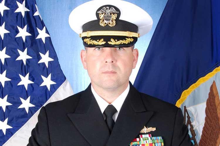 Cmdr. Bryce Benson (U.S. NAVY)