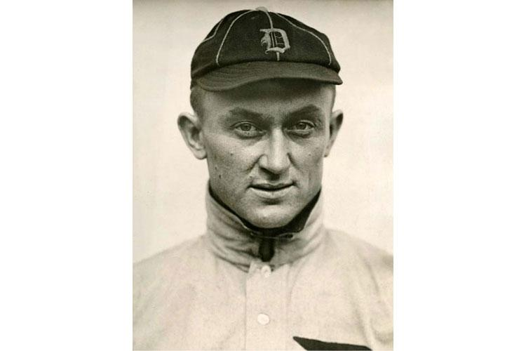 Ty Cobb poses for a photo in 1913.