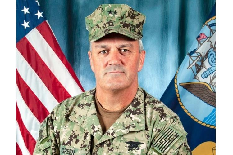 Rear Admiral Collin P. Green, commander of the Naval Special Warfare Command. (U.S. NAVY)