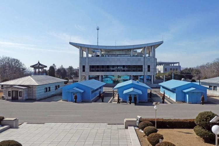 The Joint Security Area is seen from the North Korean side in this undated photo. COURTESY OF PIXABAY