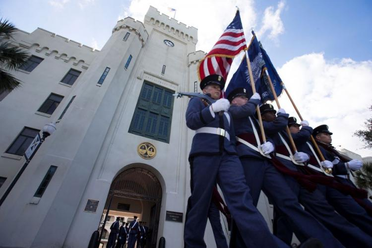 The Citadel is one of six senior military colleges looking for support from the Defense Department to expand education opportunities that lead to a cyber career. THE CITADEL/COURTESY PHOTO