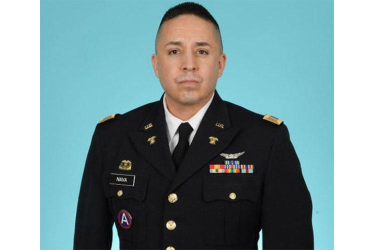 Captain Nicholas Nava recently took command of Headquarters and Headquarters Company, 53rd Signal Battalion, U.S. Army Satellite Operations Brigade (SATOPS), U.S. Army Space and Missile Defense Command. (US Army courtesy photo/RELEASED)