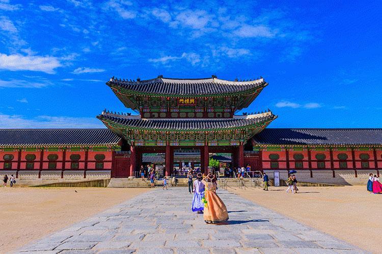 Gyeongbokgung Palace, Photos by Ben Jordan