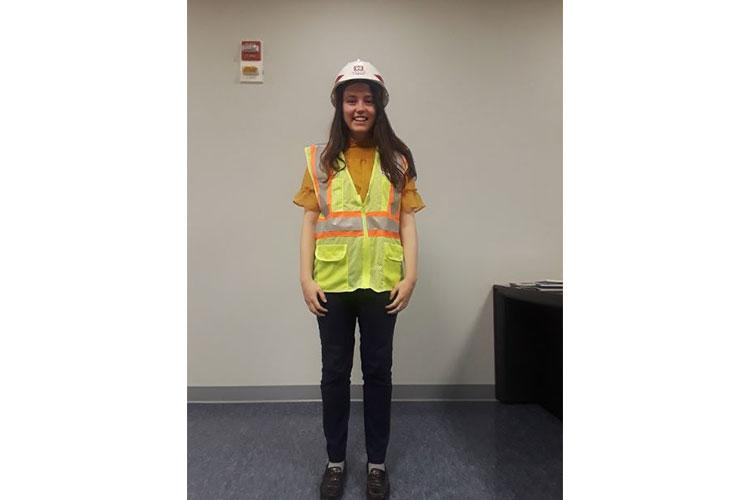 Tacy Surrett is a Junior at the University of Maryland at Baltimore School of Nursing (UMSON) and a FED Summer Hire working at the Engineering Division.