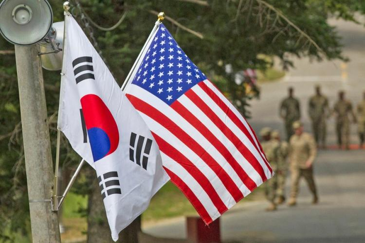 South Koreans working for the U.S. military received a one-month notice Friday, Feb. 28, 2020, that they will be put on unpaid leave if the allies do not come to a defense cost-sharing agreement.  KEN SCAR/U.S. ARMY