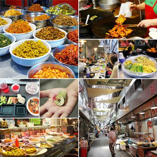 Traditional Markets in Seoul  Stripes Korea